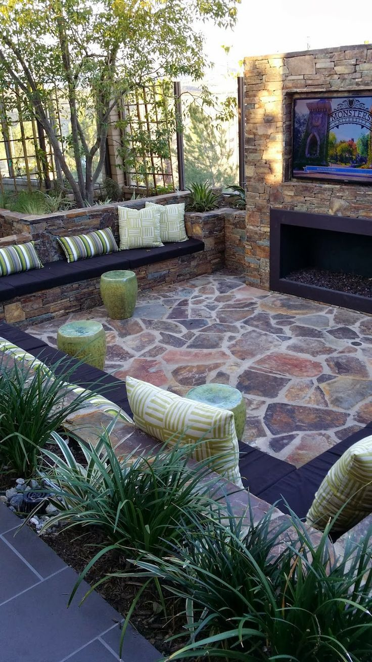 outdoor space design ideas - 736×1308