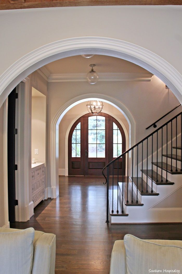 17 best images about farmhouse staircase railing on for Farmhouse stairs