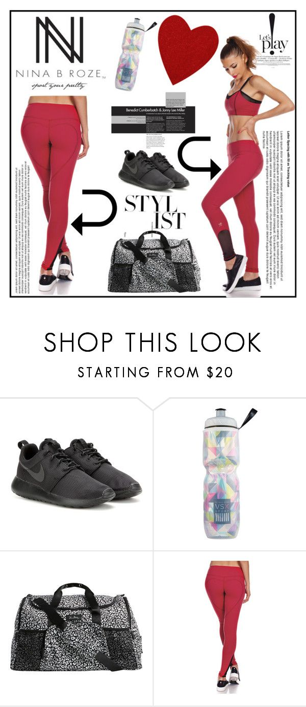 """NINA B ROZE 4"" by gaby-mil ❤ liked on Polyvore featuring NIKE, Victoria's Secret, Vera Bradley, Nina B, women's clothing, women, female, woman, misses and juniors"