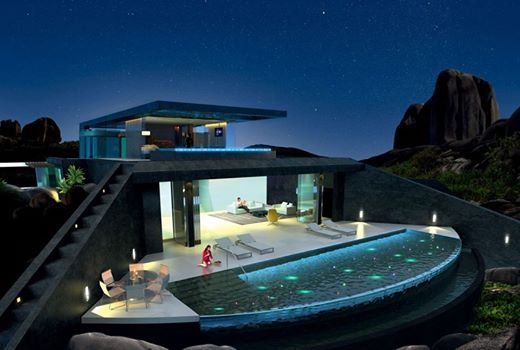 A Futuristic Residence One Opens the View toward the Beauty – Architecture Admirers