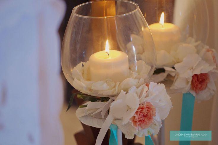 Candles by Michela & Michela www.italianweddingcompany.com