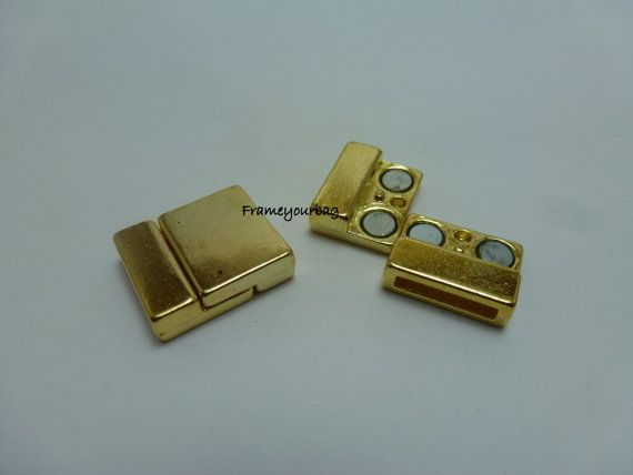 10 OFF2 Sets strong Golden Jewelry Magnetic by frameyourbag, €3.99