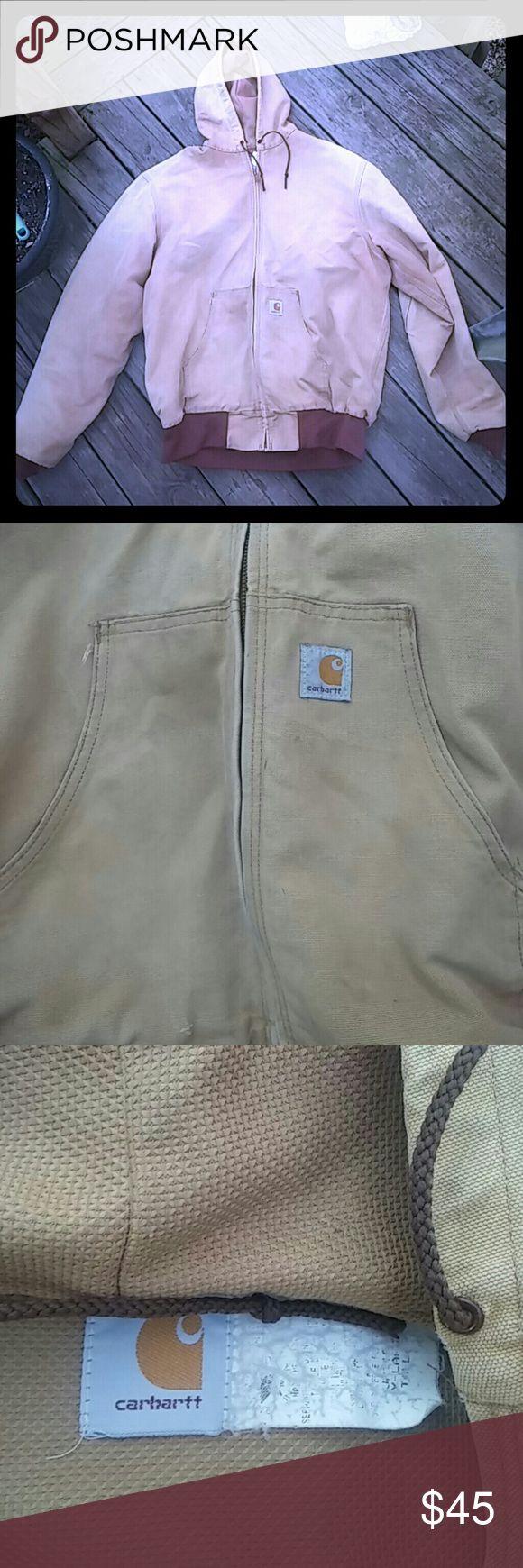 Carhartt Jacket Work Gear!! SZ XL Designed for the outdoor working man or woman. Still standing strong!! Carhartt Jackets & Coats