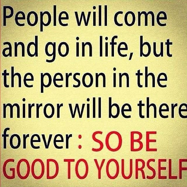 Good Quotes About Being Yourself: Be Good To Yourself #quotes #life