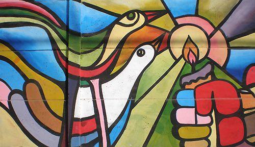Resultado de imagem para Colectivo Mural Brigada Ramona Parra