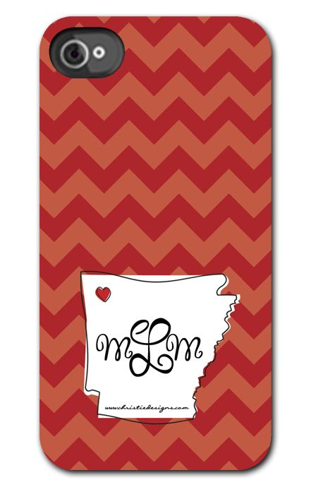 State of Arkansas Phone Cover-personalized phone case, iPhone cases, personalized phone covers, arkansas phone cover, WPS phone cover