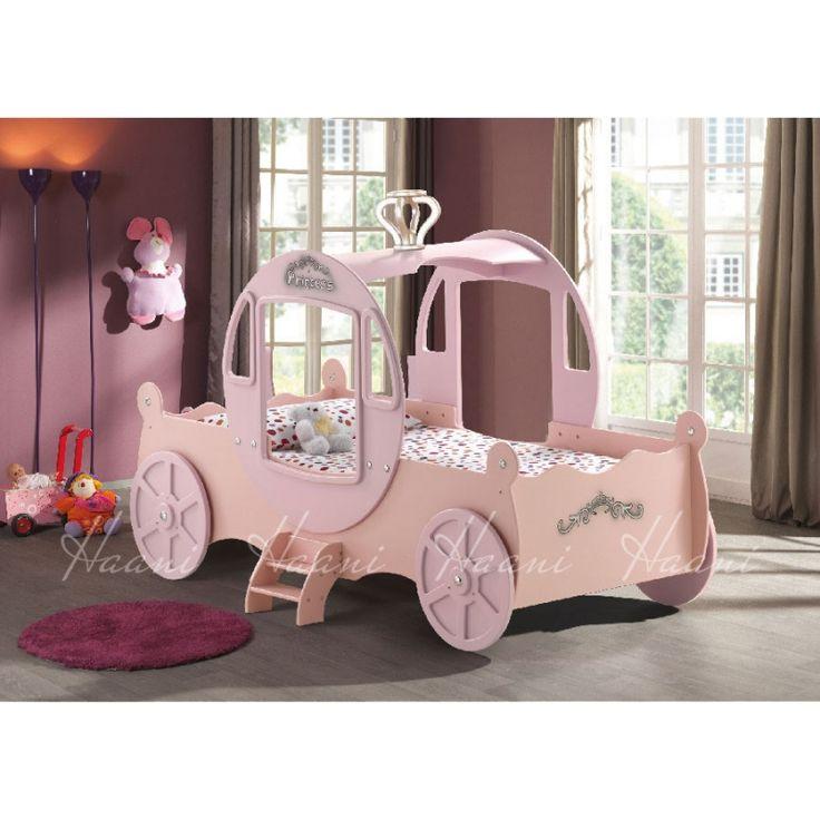 Haani Princess Carriage Bed-Pink