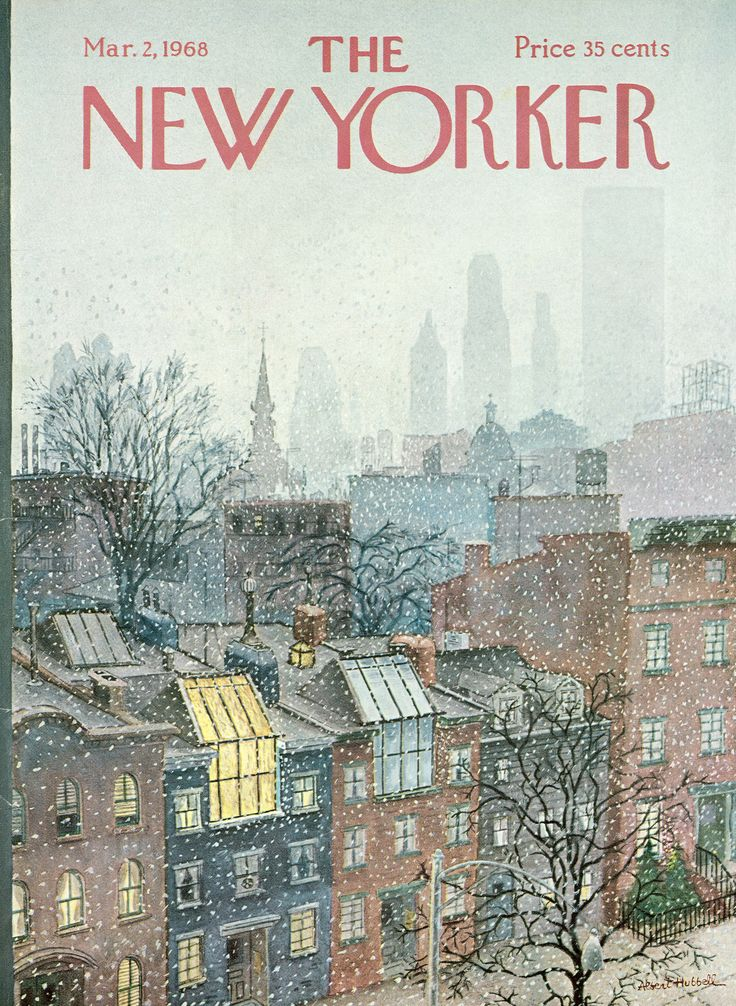 The New Yorker cover: Mar. 02, 1968.
