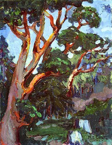 Arbutus Tree Emily Carr 1922