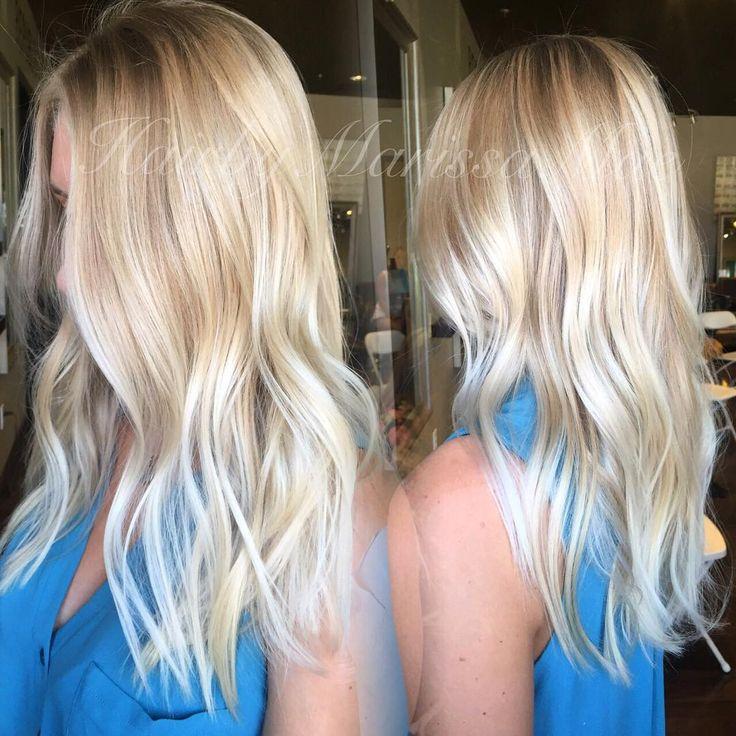 california blonde #hairbymarissamae #hairpainting