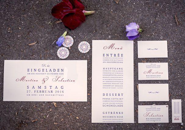 Hochzeitspapeterie: Vom Pfau geküsst  Efi - Hochzeitsagentur ...