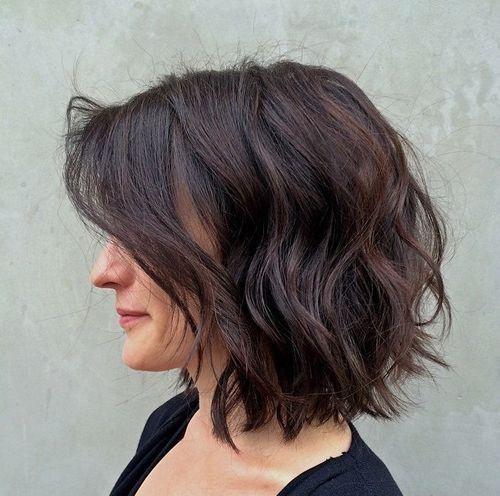 Surprising 1000 Ideas About Messy Bob Hairstyles On Pinterest Messy Bob Short Hairstyles For Black Women Fulllsitofus