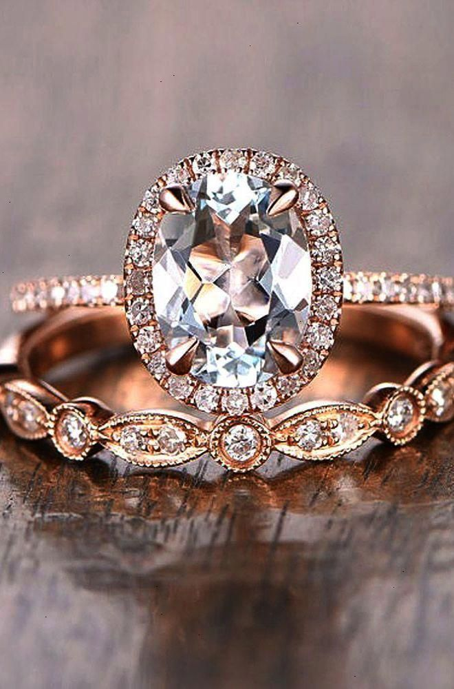 c943a275c206fc Pin -> Vintage Halo Engagement Rings #pin #engagementringszales  #haloengagementrings