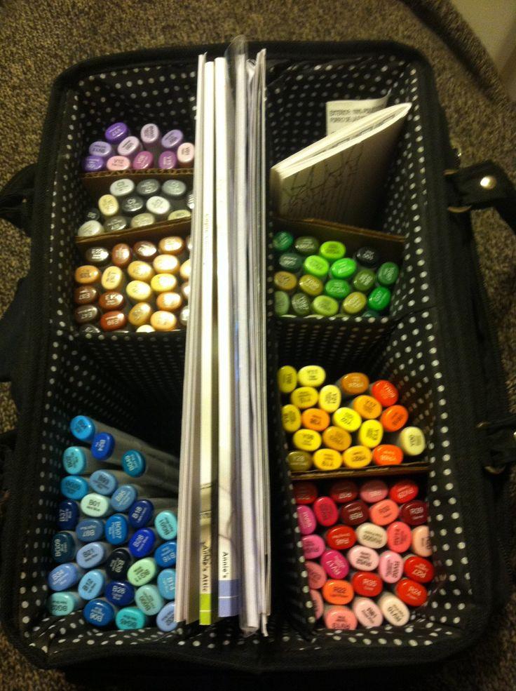 Kat's Copic Marker Storage Bag
