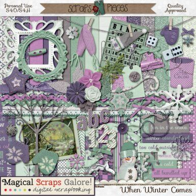 When Winter Comes by Magical Scraps Galore http://www.scraps-n-pieces.com/store/index.php?main_page=product_info&cPath=66_152&products_id=4409