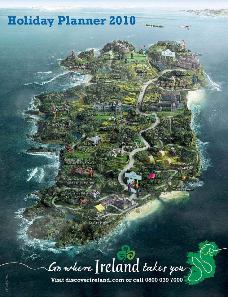 Ireland Holiday Planner 2010