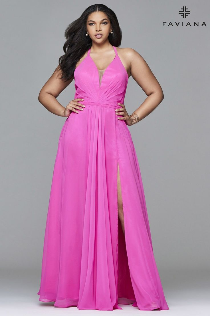 Flattering Formal Dresses for Plus Size Women | Curvy Girl Fashion ...