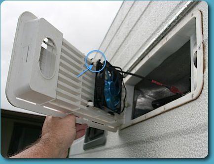 Fridge Ventilation Upgrade Camping Pinterest
