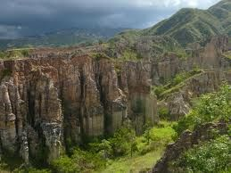 El Área Natural Única Los Estoraques - Colombia