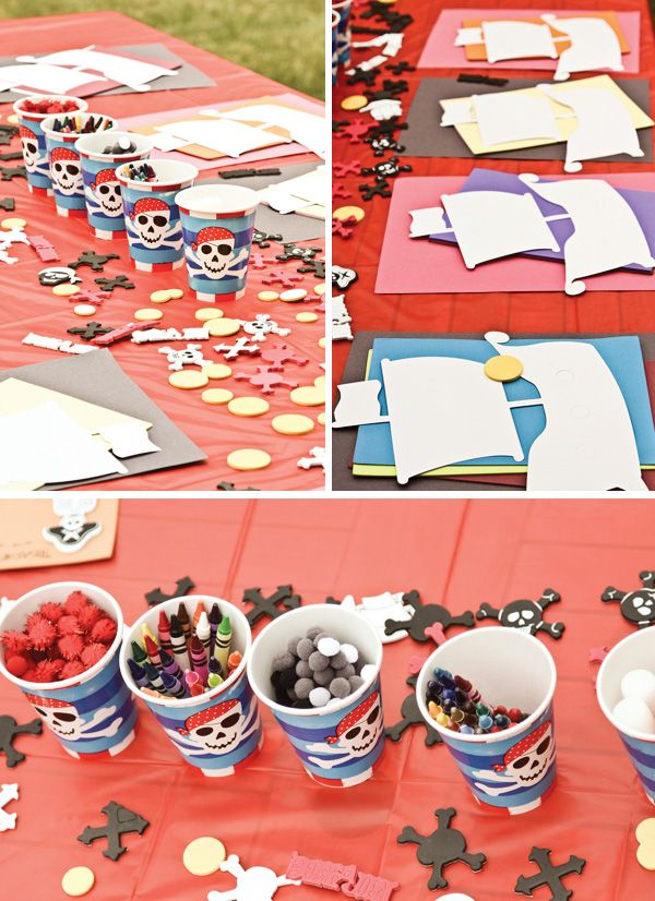 vintage pirate party by Amy L.B. Photography