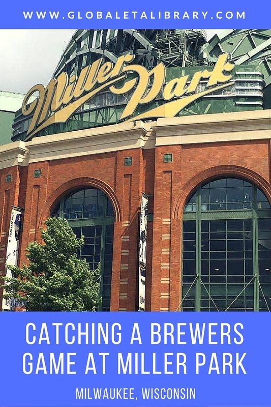 Catching a Brewers Game at Miller Park - Milwaukee, Wisconsin - Blog from www.globaletalibrary.com (photo: Karla J. Strand)