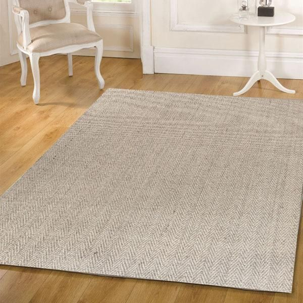 Natural Sisal Rug Herring Bone Sand 270x180cm main product photo