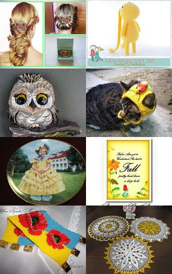 Yellow september trends by Lise Christiansen on Etsy--Pinned with…