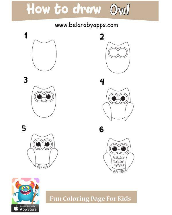 تعليم الرسم للاطفال حيوانات بالخطوات رسم حيوانات كيوت بالعربي نتعلم Cute Drawings Drawing For Kids Cute Animals