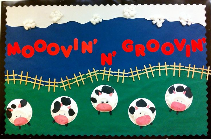 Farm Themed Bulletin Board Bulletin Boards Pinterest