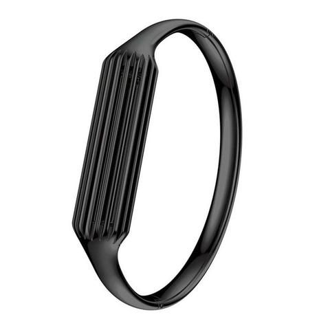 Black Stainless Steel Bangle For Fitbit Flex 2