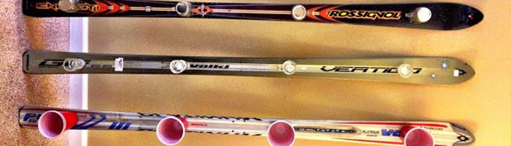 The second best use of a ski? A shot ski, of course! From easiest to most difficult, here are 4 ways on how to build one of your own.