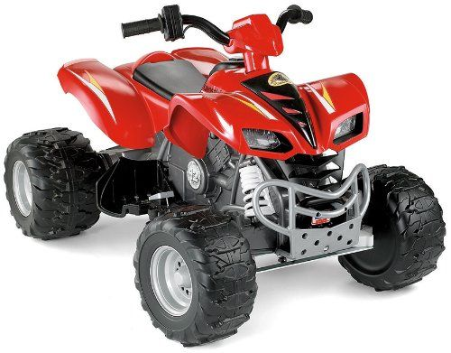 Best Gifts for 11 Year Old Boys. Power Wheels Kawasaki KFX with Monster Traction