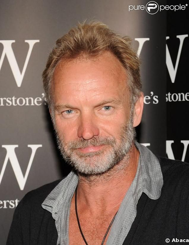Sting. Multi-dimensional and amazing talent. Lover of all things gentle and earthy. Yoga fanatic. Oh but YES. He's a GOD.