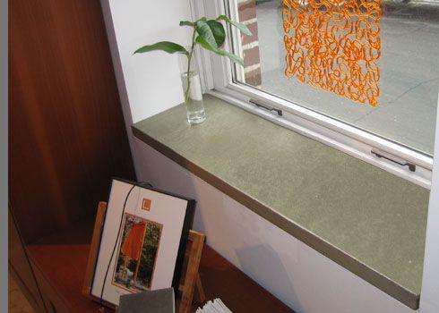 Concrete Window Sill Window Sill Decor Kitchen Window