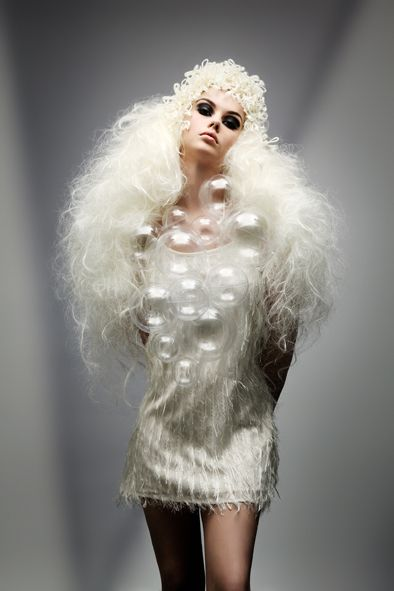 Hair: Joanne O'Neill. Photo: Jim Crone. winner Best Avant Garde Image at irish Hair Photographic Awards