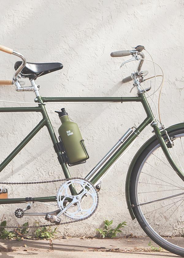 Klean Kanteen Accessories Coated Steel Bike Cage 64oz Steel Bike Bike Cage Steel