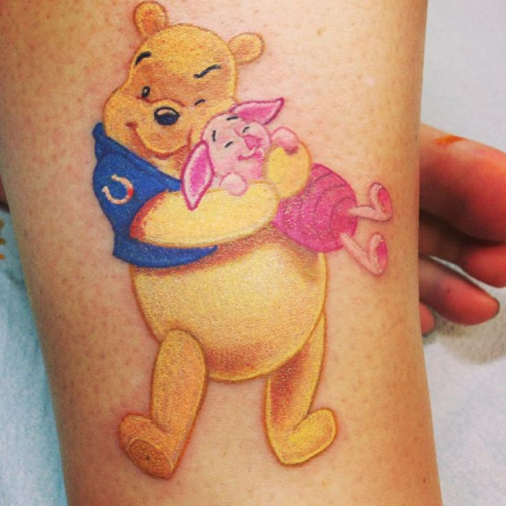 1000 images about indianapolis colts tattoos on pinterest for Winnie the pooh tattoo