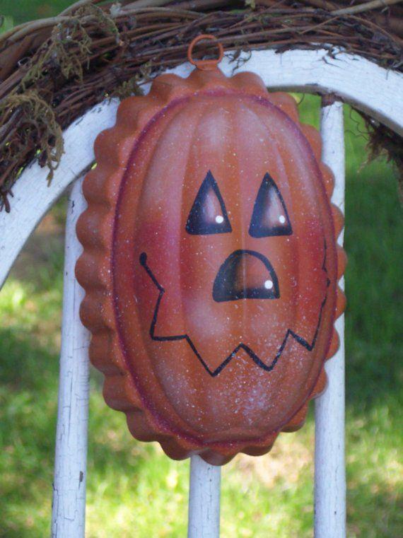 Pumpkin Jack Jello Mold by SchoolStPrimitives on Etsy, $12.50