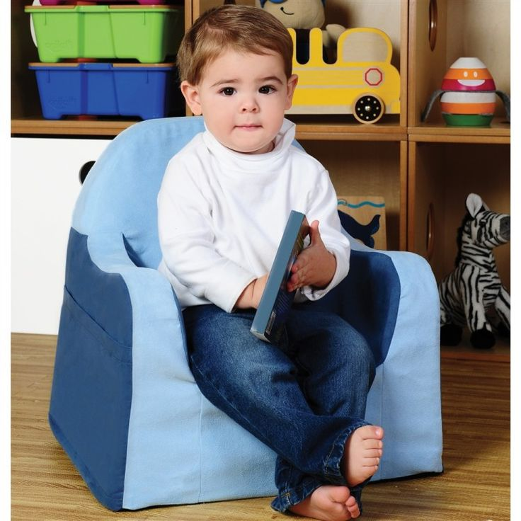 The Better Toddler Chair - Guaranteed! Now with an easy to remove cover that is machine washable! Comfy foam, supple fabric, arm rests and book pockets plus a wide contoured seat and ergonomic arms fo