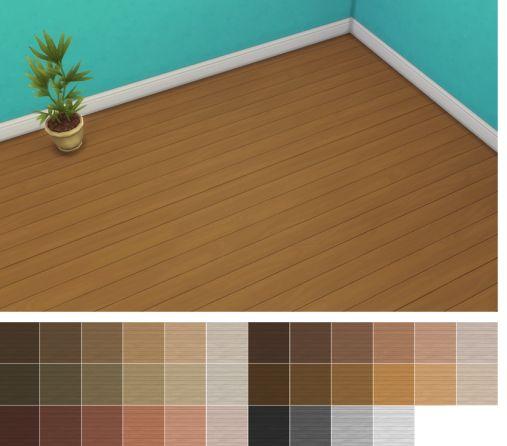Veranka: Limber Lumber Traditional Hardwoods Floor Recolors • Sims 4 Downloads