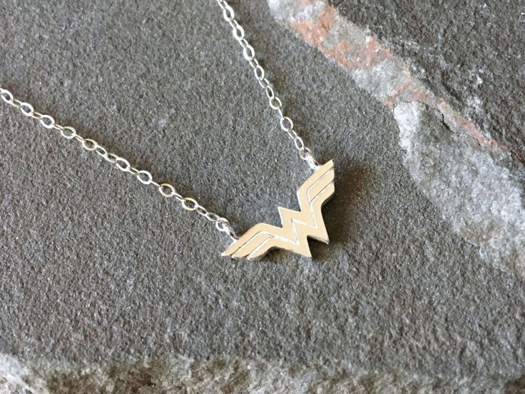 Sterling Silver Wonder Woman Necklace
