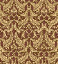 papel pintado damasco clasico dorado estilo italiano bordado