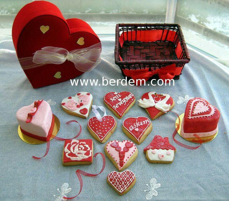 Sevgililer günü kurabiyeleri 04