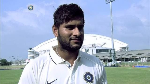 Saurabh Tiwary speaks about his first Pink-ball batting stint. He gives a big thumbs up after scoring a half century for India Green #DuleepTrophy