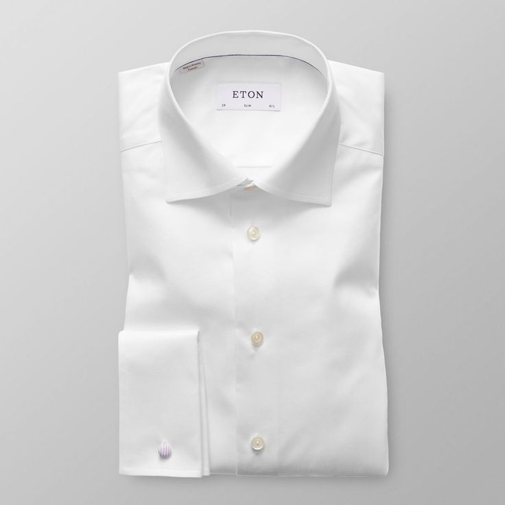 White French Cuff Shirt - Slim | Eton Shirts Danmark