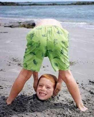 Totally taking this picture at the beach this summer!  Too funny!