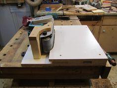 Belt Sander - Stationary Table - by Woodbridge @ LumberJocks.com ~ woodworking community