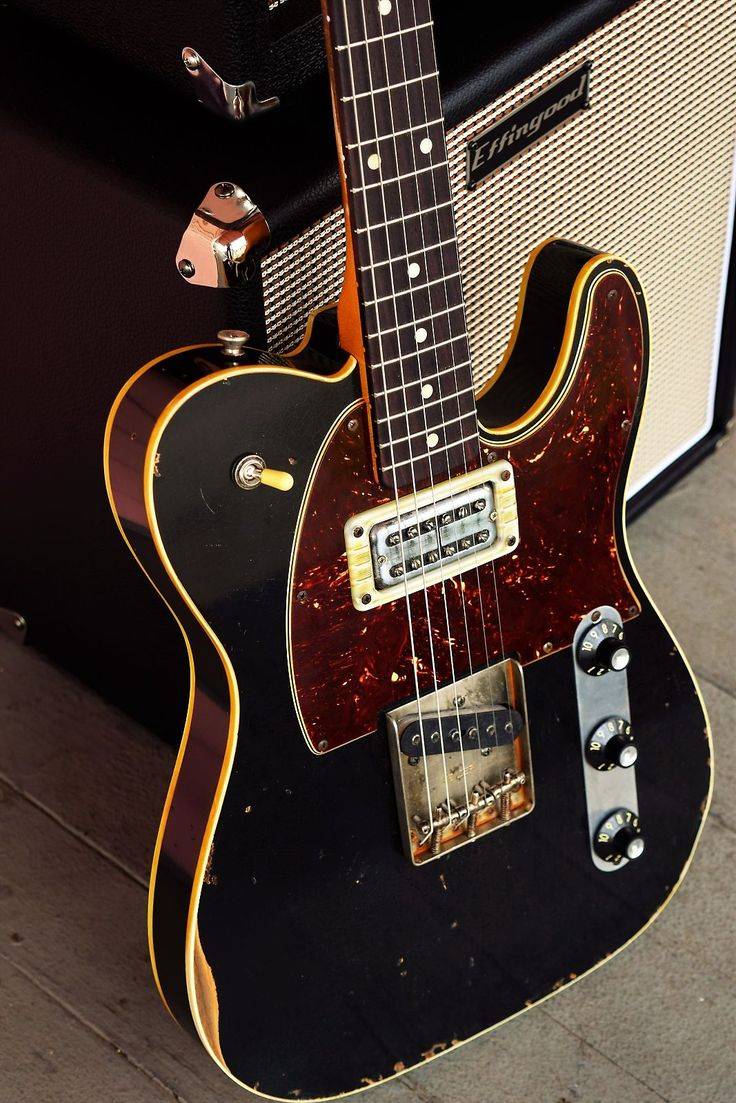 """Fender """"Tribute"""" Masterbuilt Wildwood Custom ShopTelecaster - Relic Nitro Finish - Premium Parts - USA Made - Boat NeckAffectionately Named """"The Bastard""""This Is An Amazing Player With Killer Tone!Alder Body - Double Binded - 2 Piece Center Seam -Swimming Pool RoutAllparts TRO-FAT Rosewood Fr..."""