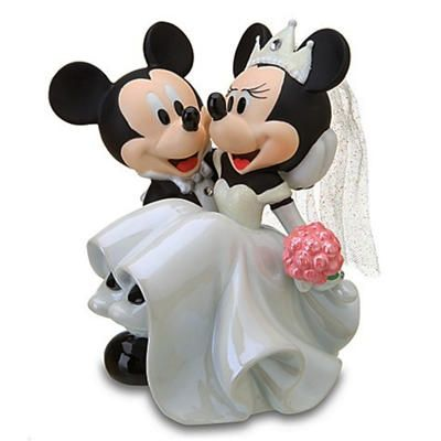 Disney Wedding Cake Toppers Accessories