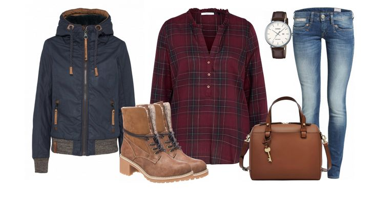 Lumberjack Outfit - Freizeit Outfits bei FrauenOutfits.de